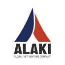 「ALAKI株式会社」のロゴ