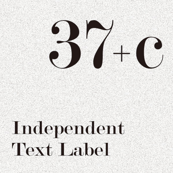 「37+c」のロゴ