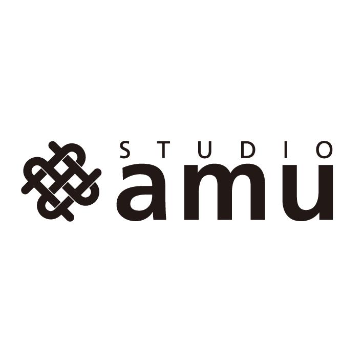 「STUDIO amu」のロゴ