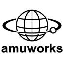 「amuworks」のロゴ