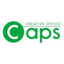「キャップス」のロゴ