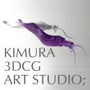 「木村3DCGアートスタジオ」のロゴ