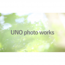 「UNO photo works」のロゴ
