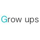 「株式会社グローアップス」のロゴ