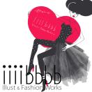 「イシバシイラストファッションワークス」のロゴ