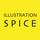 「illustration S P I C E」のロゴ
