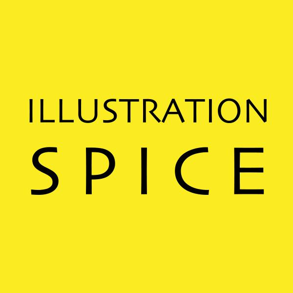 「illustration S P I C E」のロゴ