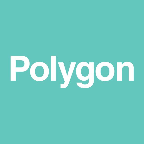 「ポリゴン」のロゴ