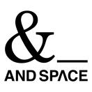 「株式会社AND SPACE」のロゴ