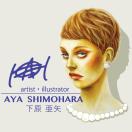「Aya Shimohara」のロゴ