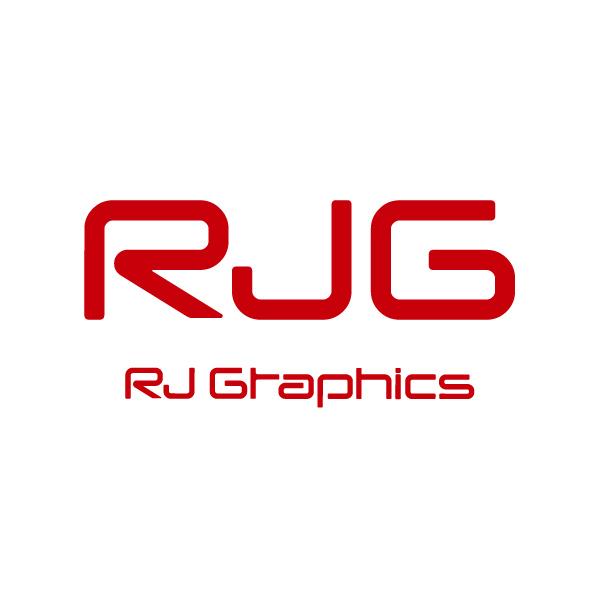 「RJ Graphics」のロゴ