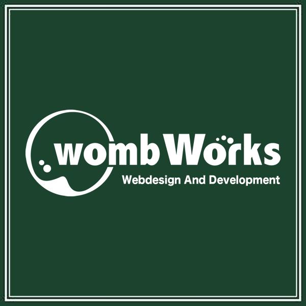 「wombWorks」のロゴ