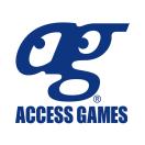 「株式会社アクセスゲームズ 開発部」のロゴ