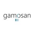 「gamosan」のロゴ