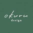 「okuru design」のロゴ