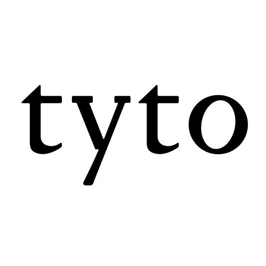「tyto」のロゴ