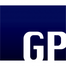 「グラフィックパワー株式会社」のロゴ