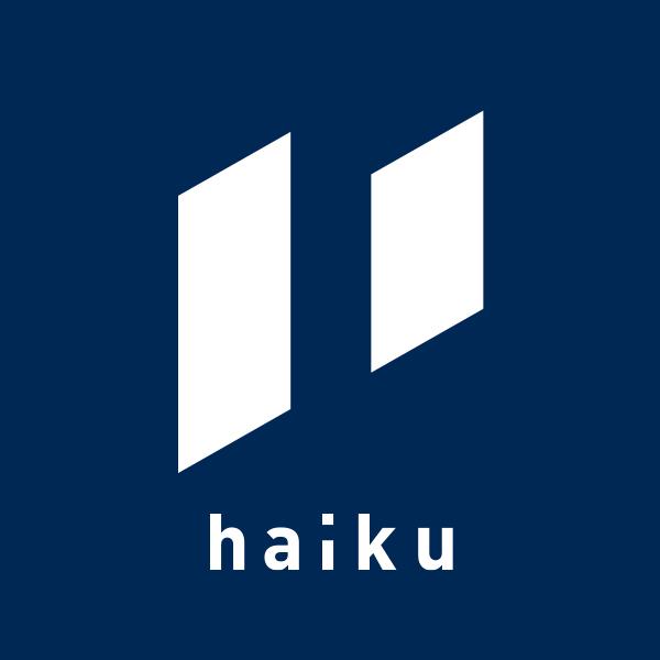 「株式会社haiku」のロゴ