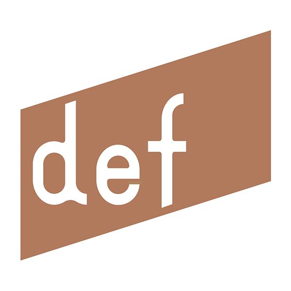 「株式会社def」のロゴ