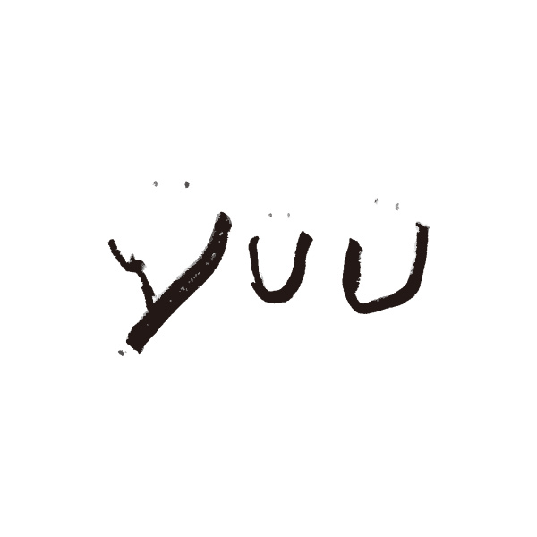 「yuu」のロゴ