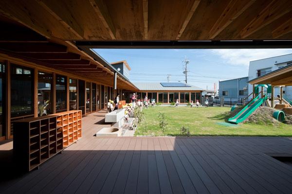 保育園外観「有限会社岩田章吾建築設計事務所」のPR画像