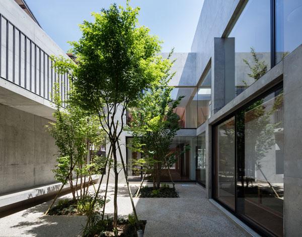 中庭「有限会社岩田章吾建築設計事務所」のPR画像