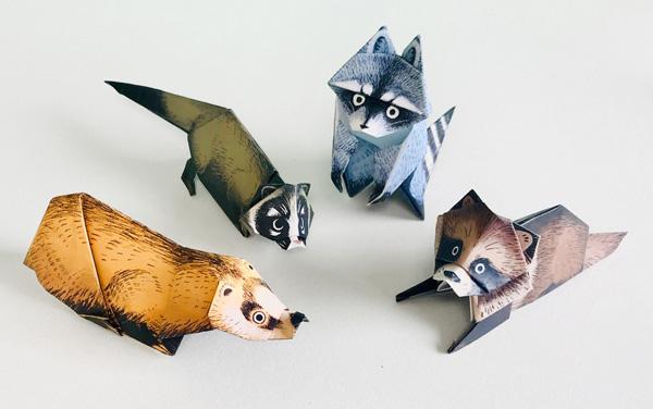 動物の折り紙「谷脇栗太」のPR画像