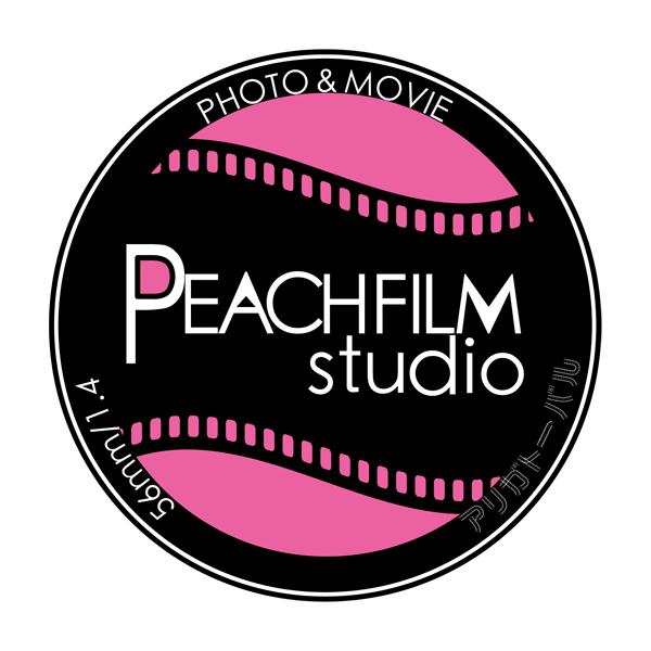 「PEACH FILM studio」のロゴ