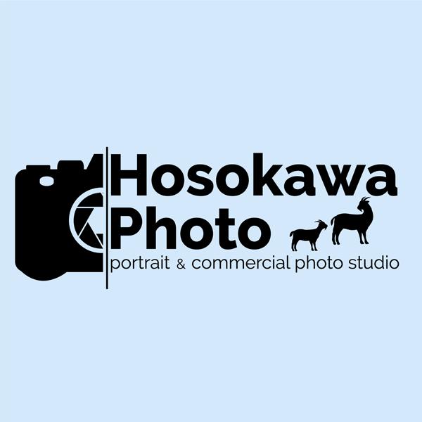 「Hosokawa Photo」のロゴ