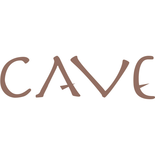 「CAVE」のロゴ