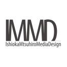「IMMD IshiokaMutsuhiroMediaDesign」のロゴ
