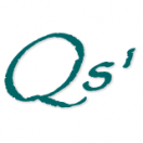 「Qs'株式会社」のロゴ