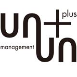 「un +plus un management」のロゴ