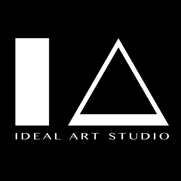 「IDEAL・ART STUDIO」のロゴ