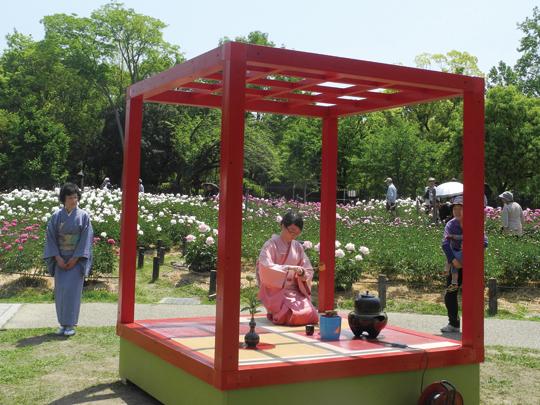 移動式茶室