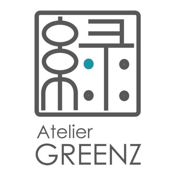 「アトリエ グリーンズ」のロゴ