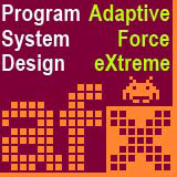 「Adaptive Force eXtreme株式会社」のロゴ