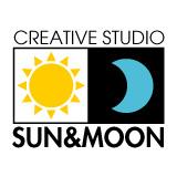 「クリエイティブスタジオ サン&ムーン」のロゴ