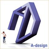 「A-design」のロゴ