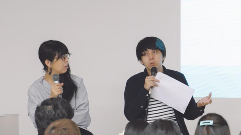 石橋氏、吉本ユータヌキ氏
