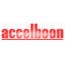 「accelboon」のロゴ