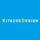 「キタゾエデザイン」のロゴ