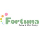 「カラー&Webデザイン フォルトゥナ」のロゴ