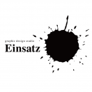 「graphic design studio Einsatz」のロゴ