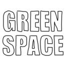 「GREENSPACE」のロゴ
