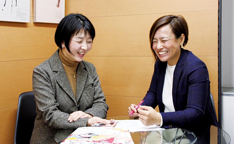 岩村さんと玉城さん