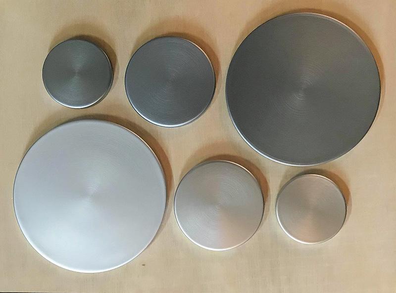 アルミ製の芯地