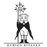 北岡久美子ロゴ