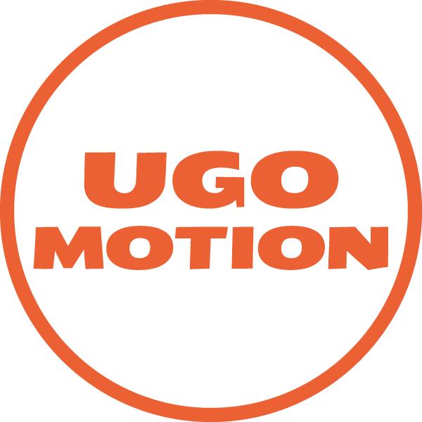 ウゴモーション ロゴ