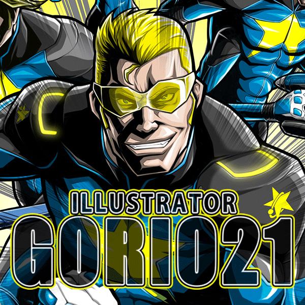GORIO21 ロゴ